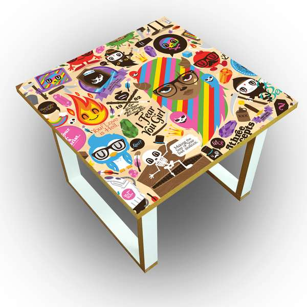 Sunny Graffiti Furniture