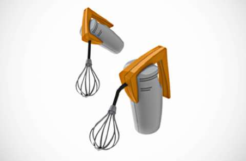 Malleable Electric Mixers