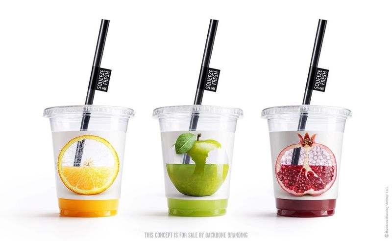 Interactive Juice Cups