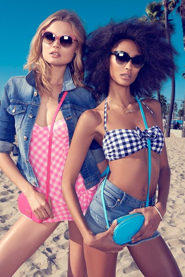 Edgy Beach-Ready Fashion