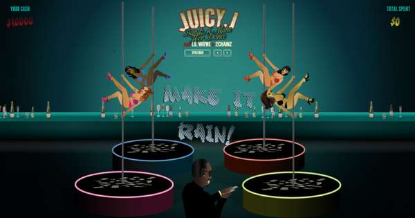 Juicy J Strip Club