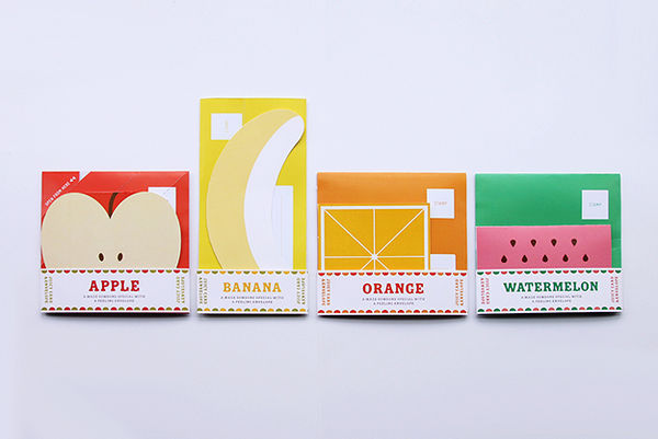Fruit-Inspired Lettersets