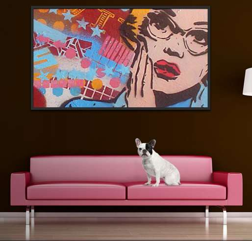 Colorblocked Customizable Artwork