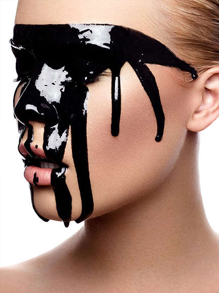 Melting Makeup Photography