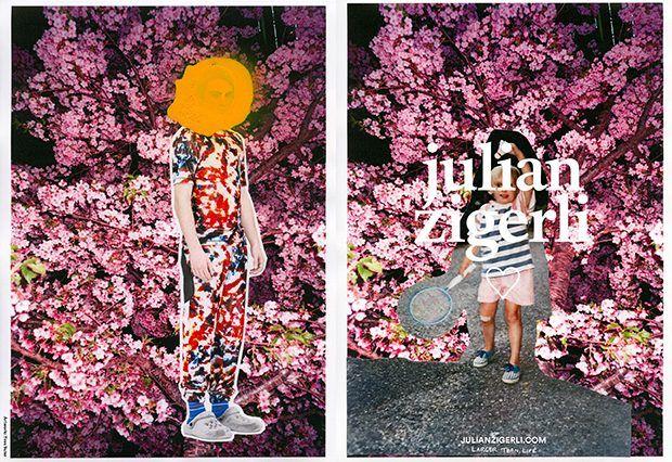 Collaged Fashion Marketing