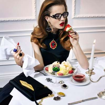 Decadent Dinner Guest Portraits
