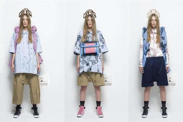 Baggy Women S Streetwear Julien David Ss11