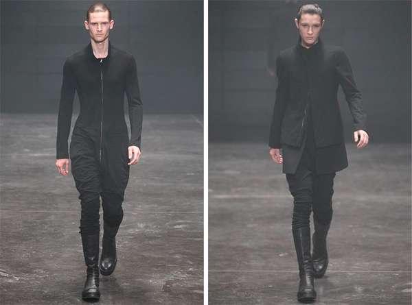 Modernly Monochromatic Menswear