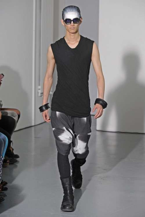 Edgy Achromatic Menswear