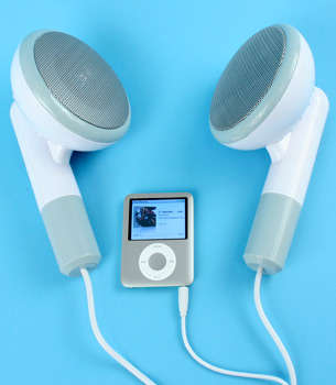 Jumbo Earbud Speakers