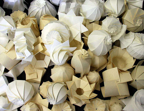 Axisymmetrical-Shaped Origami