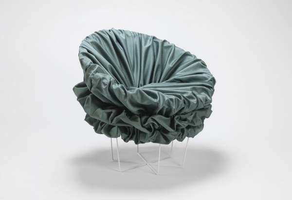 Ruffled Bucket Seating
