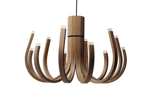 Bowed Lumber Lighting