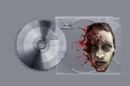 Bloody Zombie Stationary
