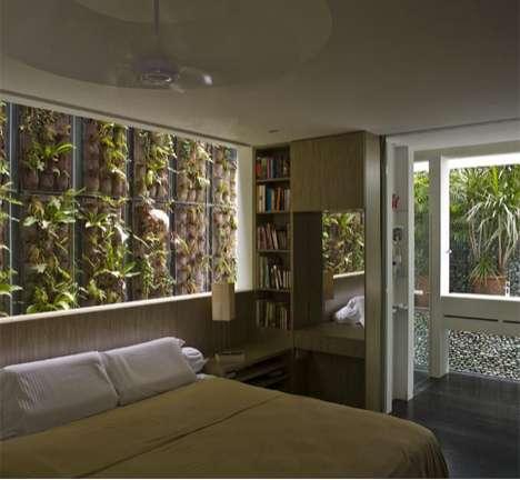 Lush Tropical Interiors