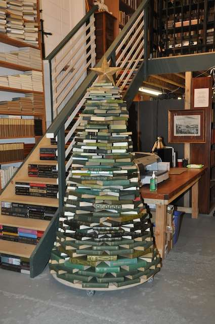 Juniper Books Christmas Tree