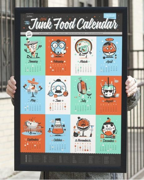 Sweet Tooth Calendars