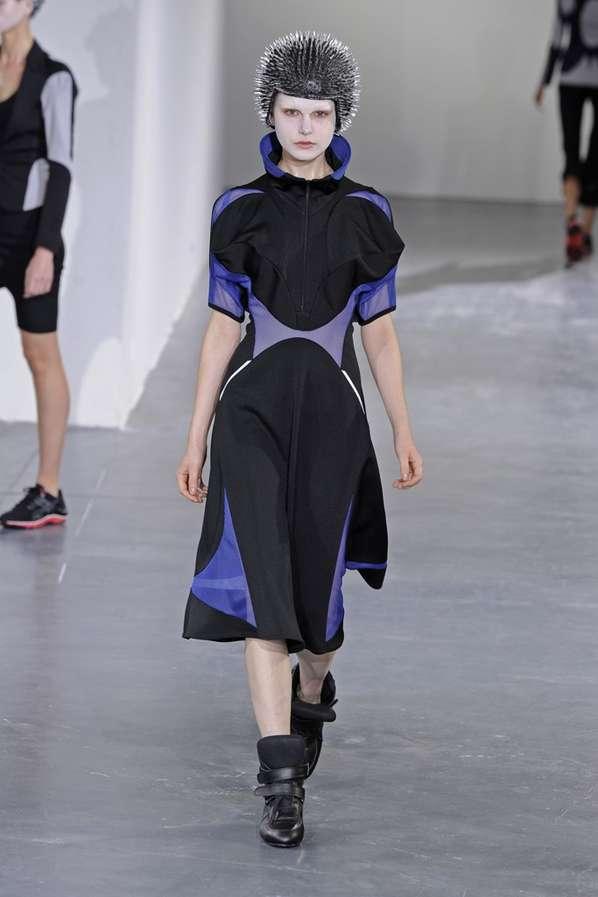 Sporty Cyborg Couture