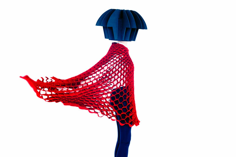 Intricate Origami Fashion