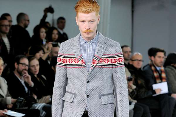 Nordic-Patterned Blazers