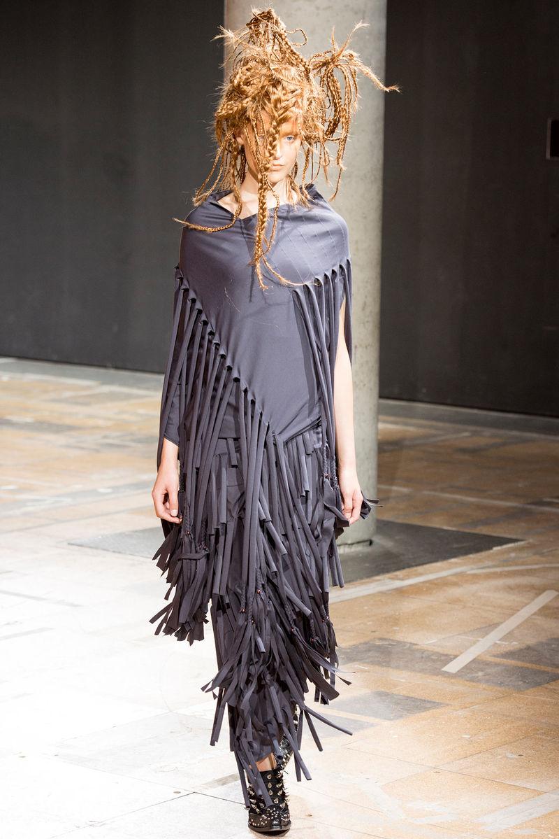 Knotted Disheveled Fashion