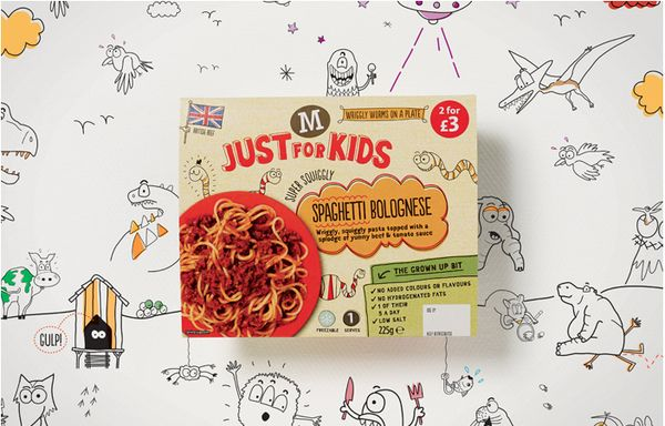 Doodled Food Branding