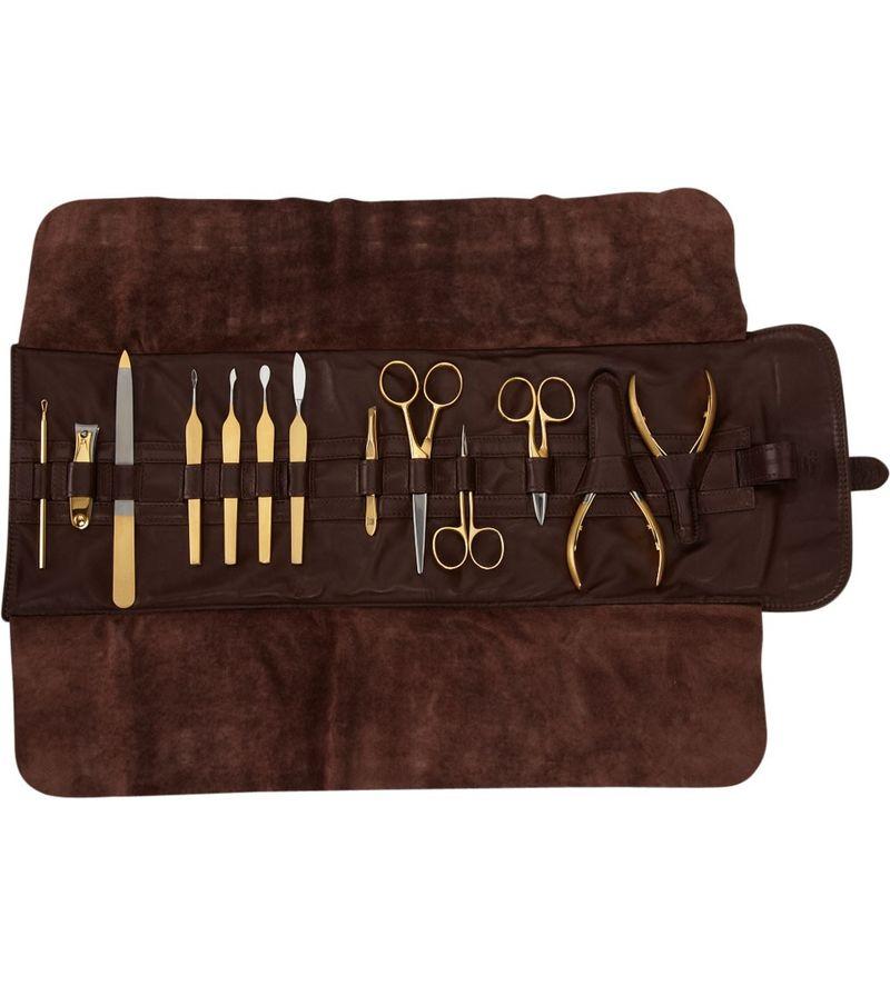 Precious Metal Manicure Sets