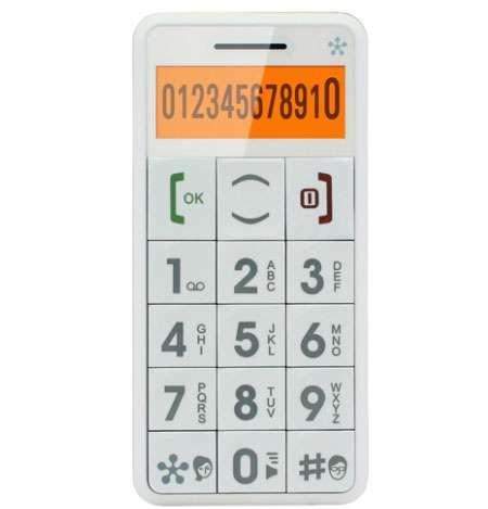 Super-Simple Mobile Phones