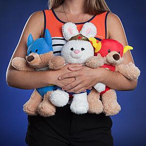Stuffed Superhero Teddys