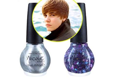 "Laugh if you will, but Justin Bieber line of nail polish called ""One Less"