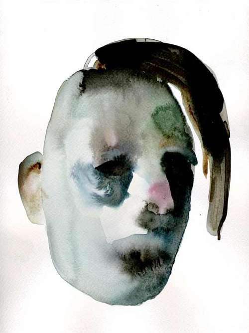 Warped Watercolor Portraits