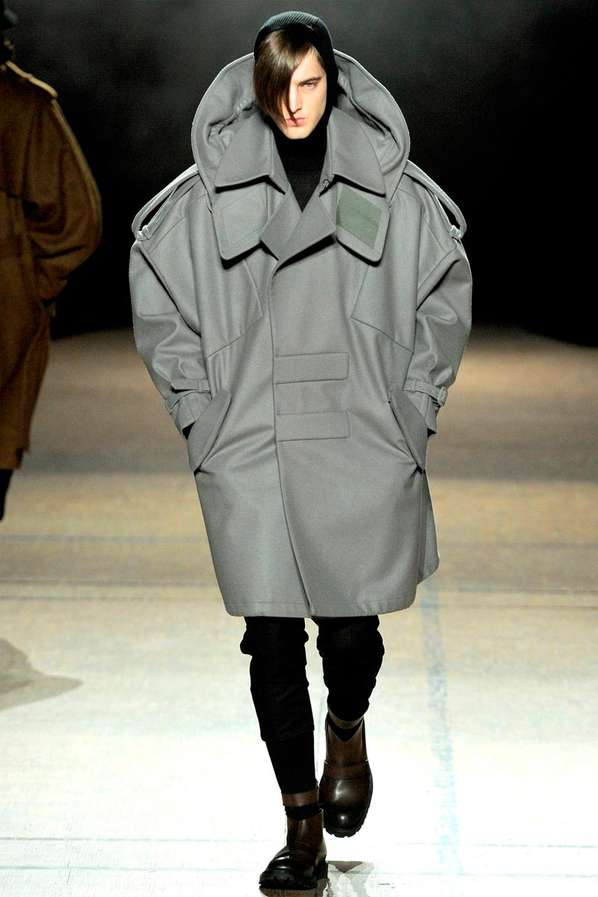 Oversized Menswear Looks : Juun J Fall/Winter 2012