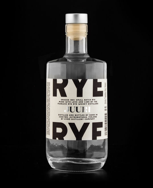 Historical Font Rye Packaging