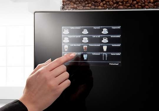 Touch-Screen Coffee Makers