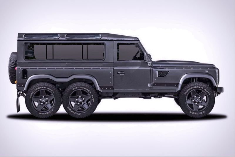 Elongated Jeep Concepts