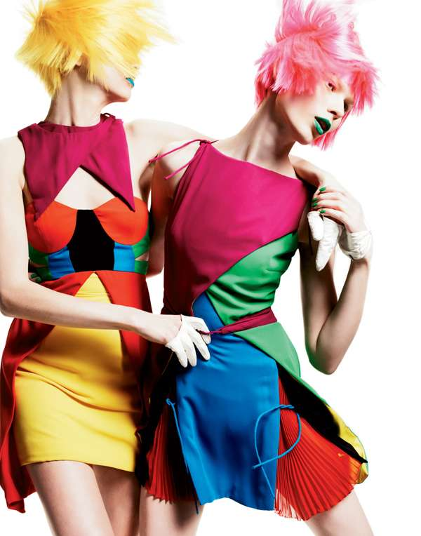 Candy-Colored Couture