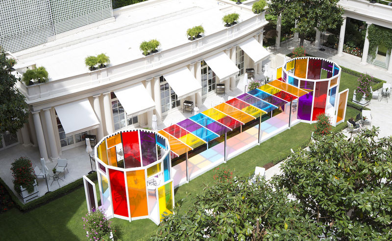 Kaleidoscopic Hotel Designs