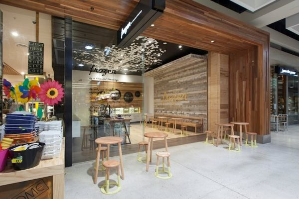 Color-Accented Yoghurt Stores