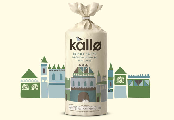Kallo Rice Cakes Packaging
