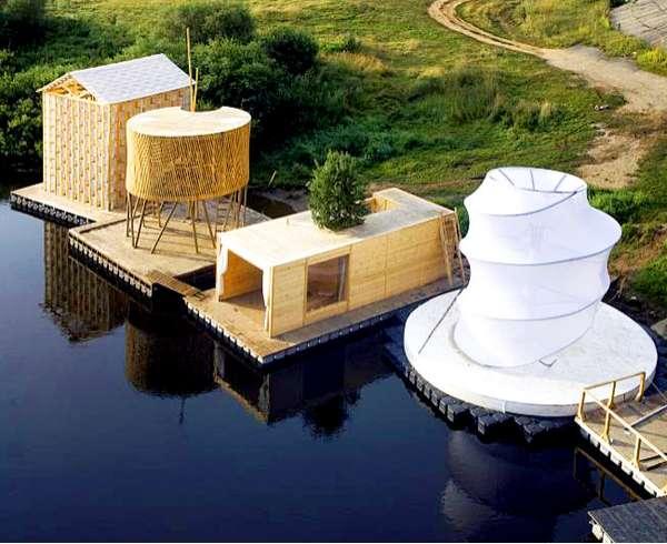 Floating River Saunas