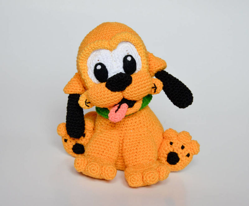 Crocheted Cartoon Characters