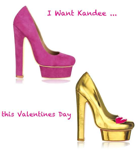 Valentine's Day-Inspired Pumps