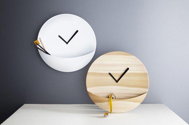 Kangaroo Pouch Clocks