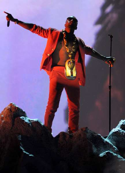 Kanye West 2010 BET Awards