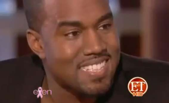 Kanye West Diamond Smile