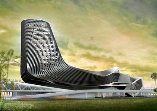 Fantastic Fin-Like Architecture