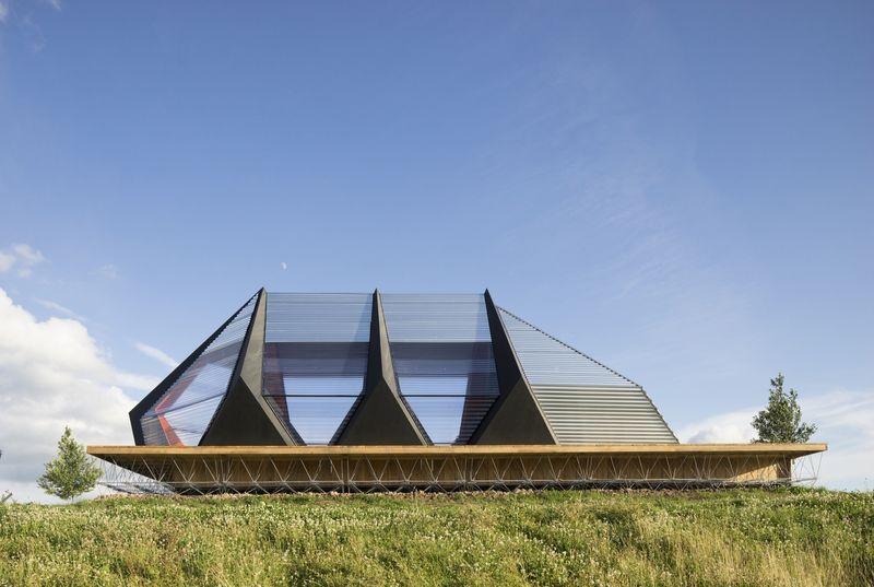 Futuristic Naval Pavilions