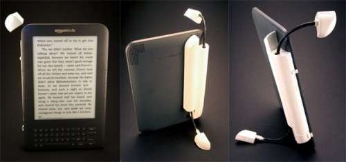 Illuminating E-Reader Holders