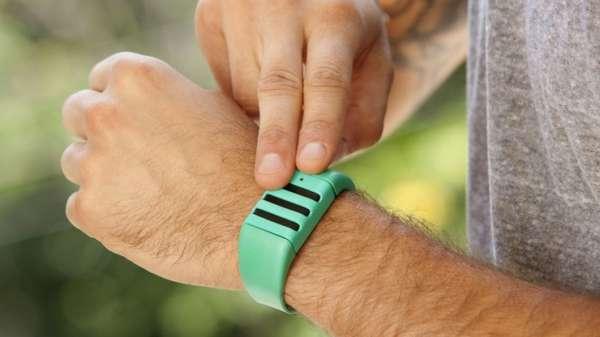 Audio-Recording Wristbands