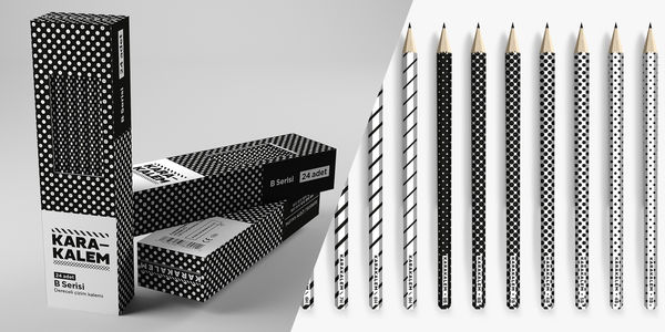 Karakalem Pencils packaging